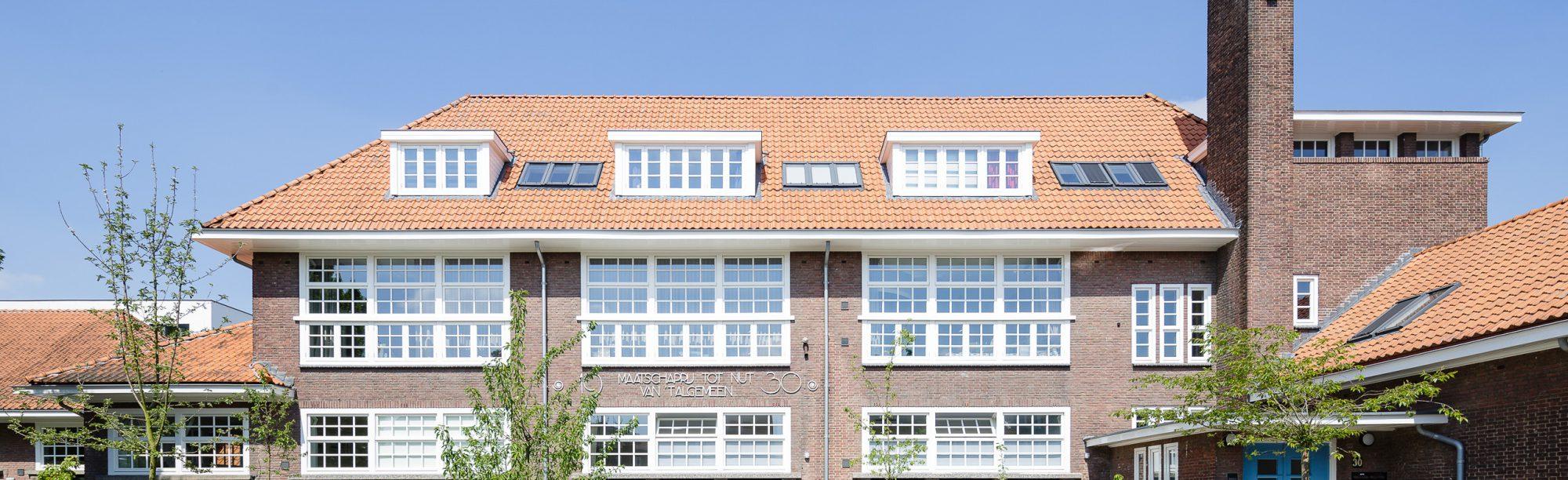 Transformatie schoolgebouw woningbouw