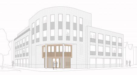 Transformatie kantoor woongebouw